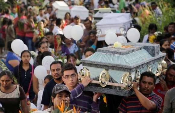 O batizado que terminou em velório de 11 pessoas após terremoto no México