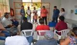 Cleiton Roque acompanha secretária adjunta estadual da Agricultura em Primavera de Rondônia