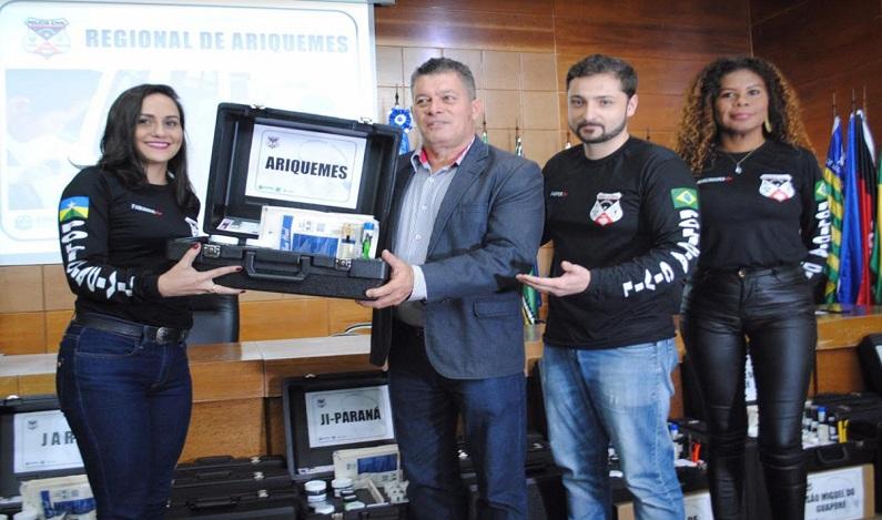 Deputado Edson Martins garante kits biométricos a municípios
