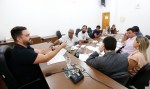 Deputado Léo Moraes se reúne com empresários ligados a eventos