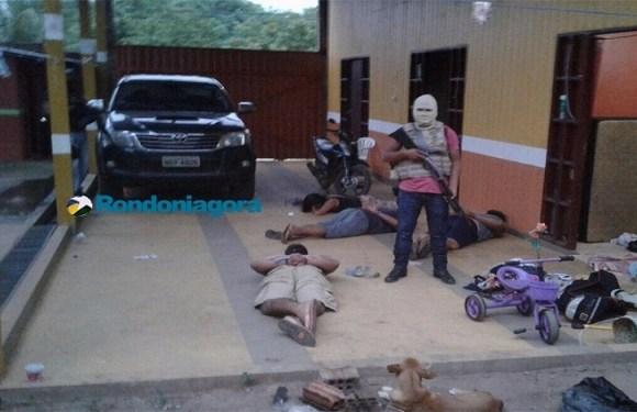 Ação conjunta de policiais de Porto Velho, Acre e da Bolívia prende quadrilha especializada em roubos em RO