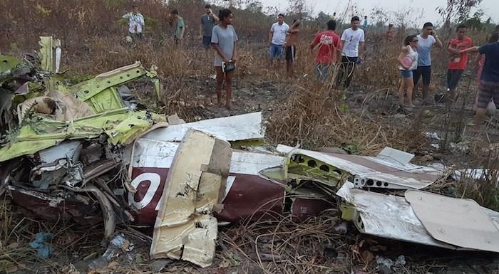 Avião monomotor cai no Pará, e deixa 5 mortos
