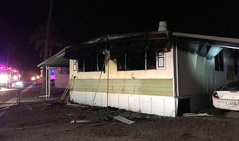 Homem coloca fogo na casa ao tentar matar uma aranha