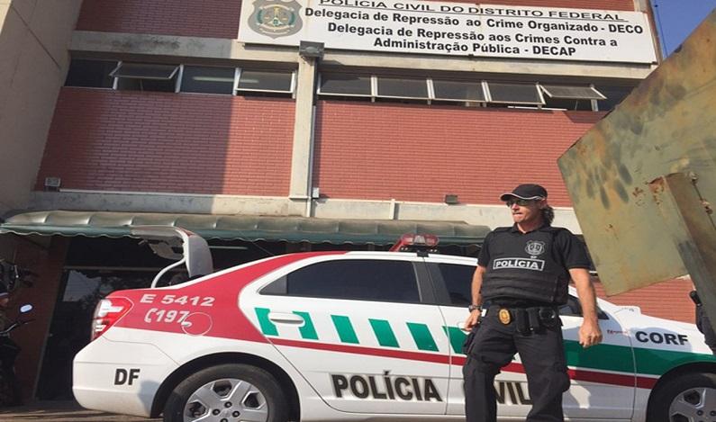 Polícia faz buscas para apurar fraudes na Fundação de Apoio à Pesquisa do DF