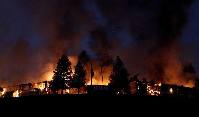 Incêndios aumentam na Califórnia e número de mortos chega a 21