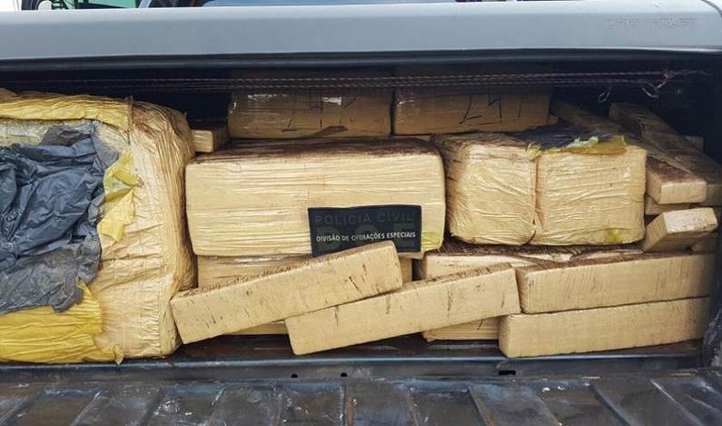 PF apreende 11 toneladas de maconha no interior de São Paulo