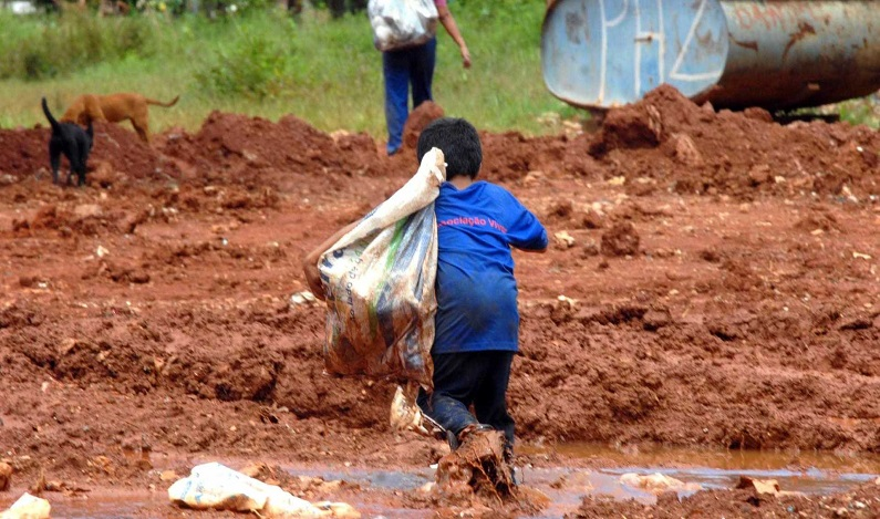 Fiscais encontram 118 crianças em situação de trabalho infantil em RR