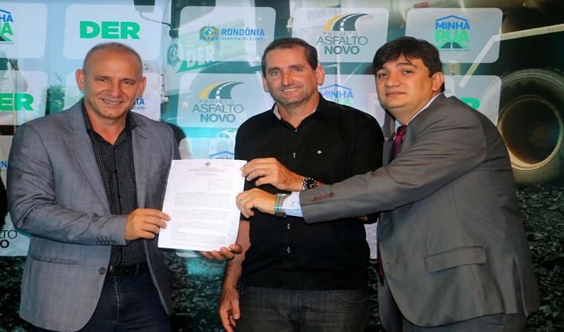 Cleiton Roque destina R$ 100 mil para Novo Horizonte
