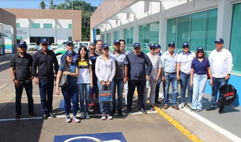 Fecomércio-RO e empresários da Pesca conhecem trabalho da Santo Antônio Energia