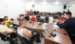 Léo Moraes assegura apoio a federação e a projetos que atendem jovens com jiu jitsu
