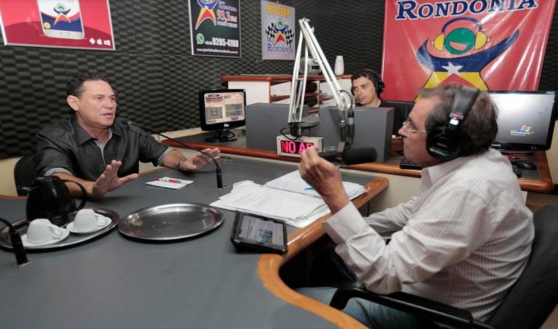 Presidente Maurão de Carvalho concede entrevista à rádio e destaca agronegócio