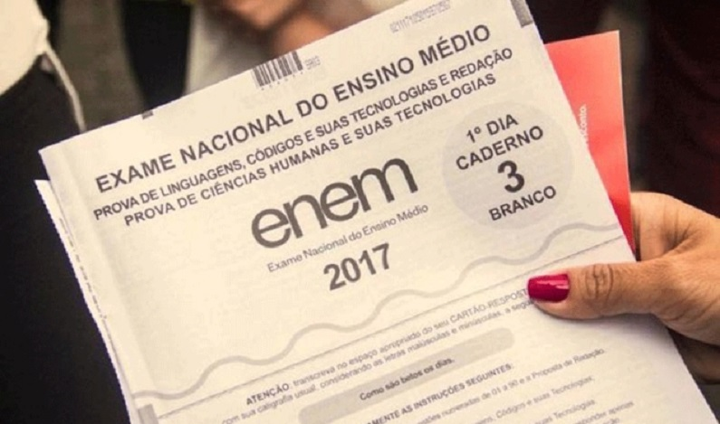 Gabarito oficial do Enem 2017 será divulgado na quinta-feira