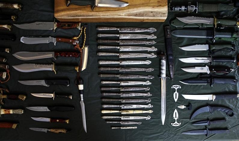 Portar facas, tesouras e foices pode virar crime no Brasil