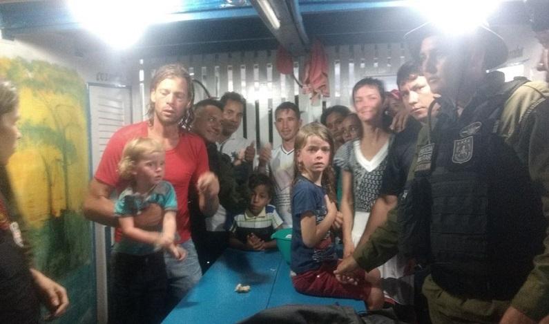 Família americana desaparecida após ataque de piratas é encontrada com vida no PA