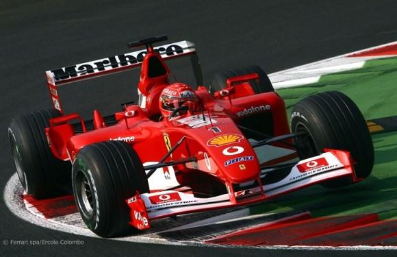 Ferrari de Schumacher é vendida por US$ 7,5 milhões em Nova York