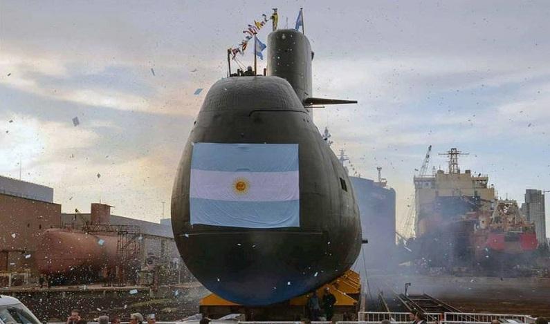 """""""Novo contato"""" pode ser de submarino argentino desaparecido"""