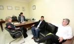 Cleiton Roque recebe lideranças da prefeitura de Espigão do Oeste