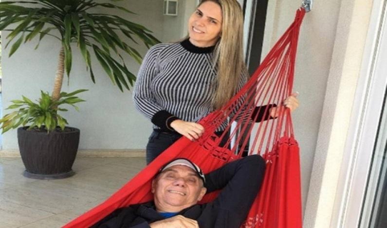 Ex-namorada de Marcelo Rezende diz que vai brigar por pensão