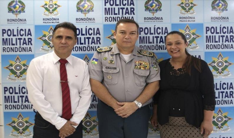 Deputada Rosangela Donadon realiza intermédio para permanência de policiamento em Nova Conquista