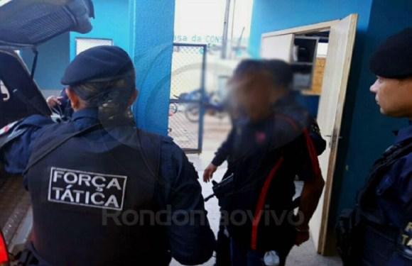 Adolescente é baleado ao tentar roubar arma de vigilante em escola de Porto Velho