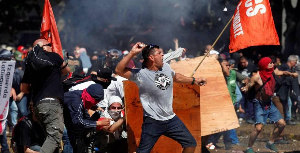 Argentinos protestam em todo o país contra reforma previdenciária