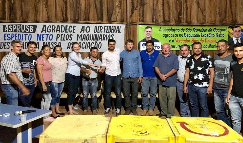 Emenda de Expedito Netto é investida em saúde, educação e agricultura nos municípios do interior