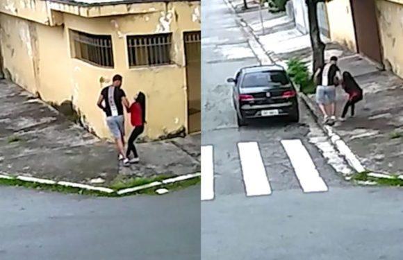 Acusado de estupro filmado na zona leste de SP se entrega para a polícia