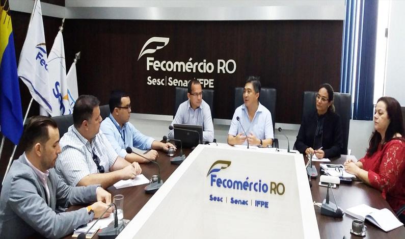 """Entidades discutiram o lançamento do projeto """"Porto Velho Capital Nacional da Pesca Esportiva"""""""