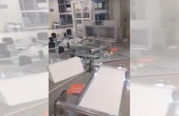 Funcionário surta e quebra tudo em terminal do aeroporto Galeão, no RJ