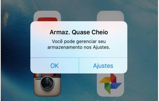 Saiba como liberar espaço automaticamente no seu iPhone