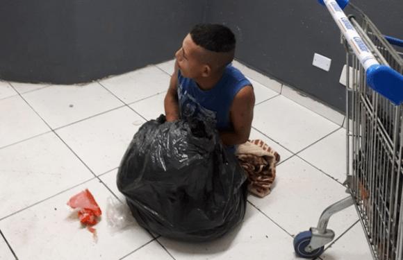 Preso tenta escapar de cela se escondendo dentro de saco de lixo