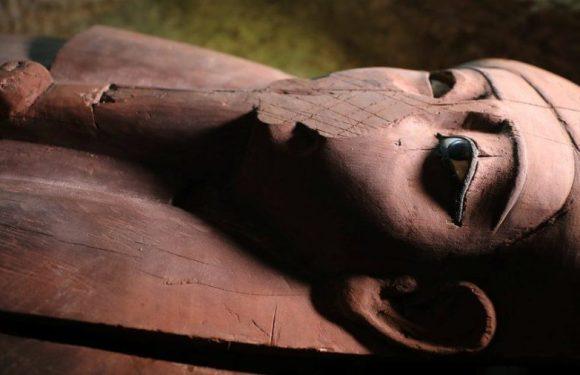 A necrópole descoberta no Egito que continha uma 'mensagem do além'