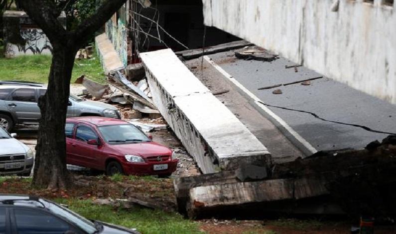 Recuperação de viaduto que desabou em Brasília deve levar seis meses