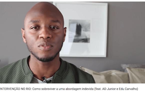 Vídeo ensinando população negra como agir durante intervenção viraliza na internet
