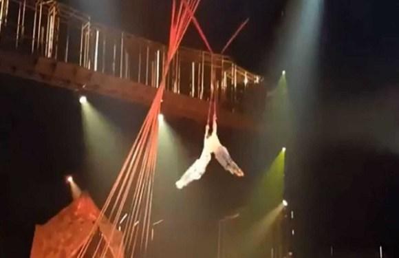 Artista do Cirque du Soleil morre após queda durante espetáculo na Flórida