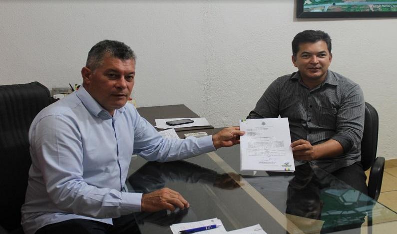 Deputado Edson Martins destina R$100 mil para Pavimentação de Vias Urbanas de Ji-Paraná