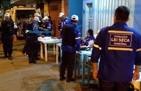 Detran suspende operações noturnas da Lei Seca por 15 dias em RO