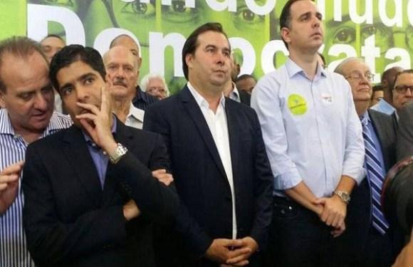 Em BH, Rodrigo Maia diz que não vai 'sorrir' nem 'abraçar' na campanha