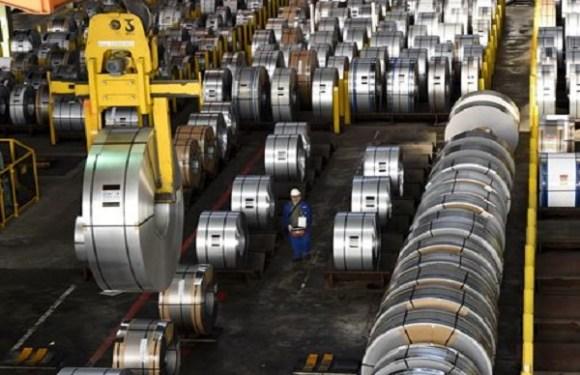 Exportações de aço do Brasil para os Estados Unidos sobem após tarifa