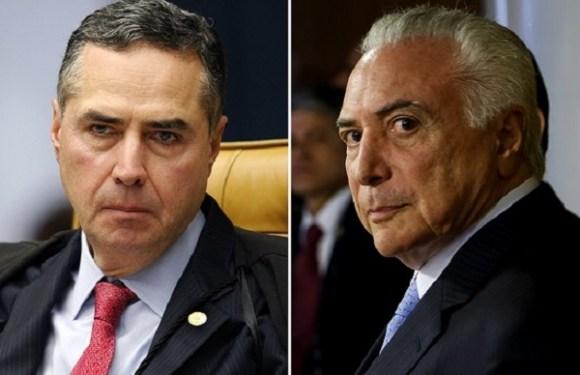 Defesa de Temer terá acesso à decisão que quebrou sigilo do presidente