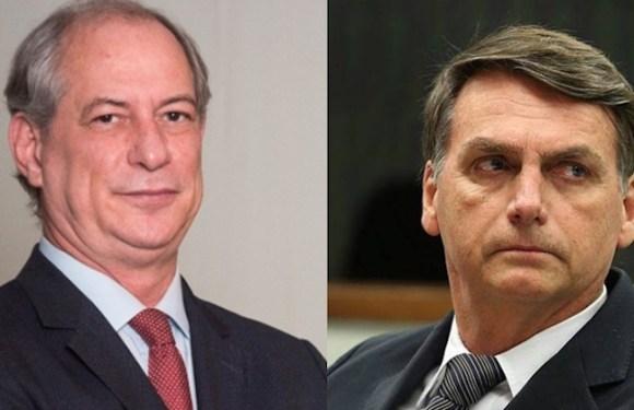 Bolsonaro ajuíza queixa-crime contra Ciro Gomes por calúnia e injúria; deputado não explicou doação da JBS