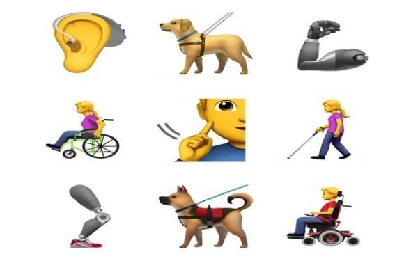 Apple quer incluir novos emojis que mostrem deficientes físicos em aplicativos