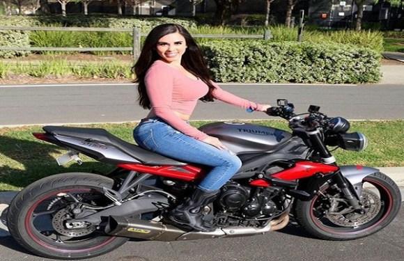 Motociclista famosa no Instagram morre em acidente de trânsito na Califórnia