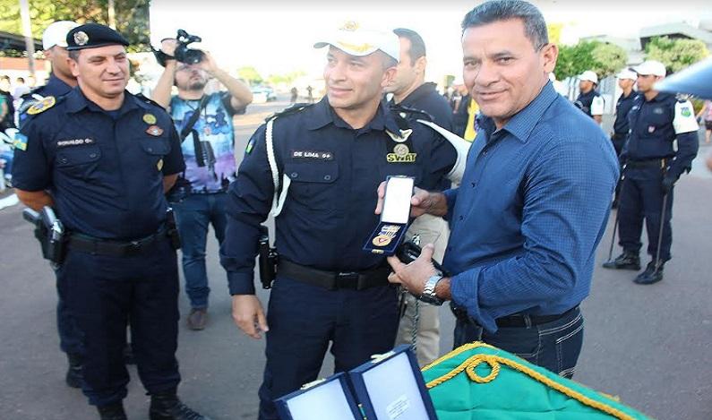 Fecomércio é homenageada pela Polícia Militar com Medalha do Mérito do Trânsito