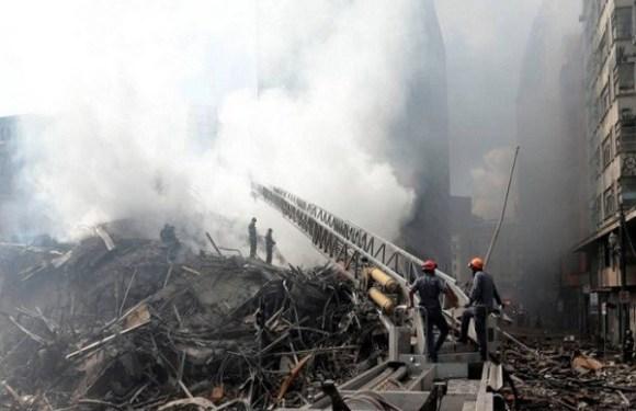 Acidente doméstico é principal hipótese para incêndio em prédio que desabou, diz secretário da Segurança