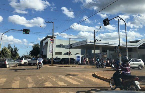 Em Vilhena, protesto dos caminhoneiros gera corrida aos postos
