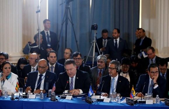OEA aprova resolução para suspender Venezuela