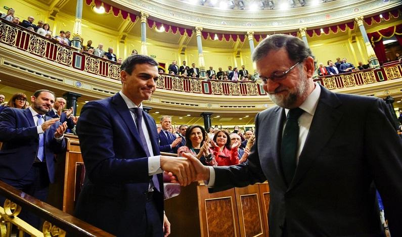 Parlamento espanhol elege socialista Pedro Sánchez como primeiro-ministro