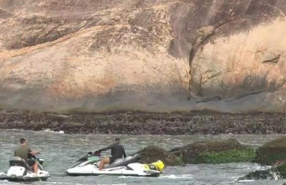Bombeiros encontram seis corpos em praia na Urca, no Rio de Janeiro
