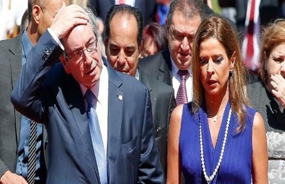 Cláudia Cruz, mulher de Cunha, é condenada em 2ª instância na Lava Jato
